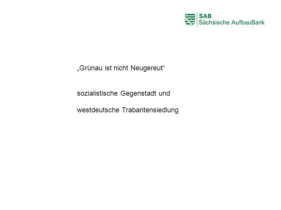 """ABCDEF """"Grünau ist nicht Neugereut"""" sozialistische Gegenstadt und westdeutsche Trabantensiedlung"""