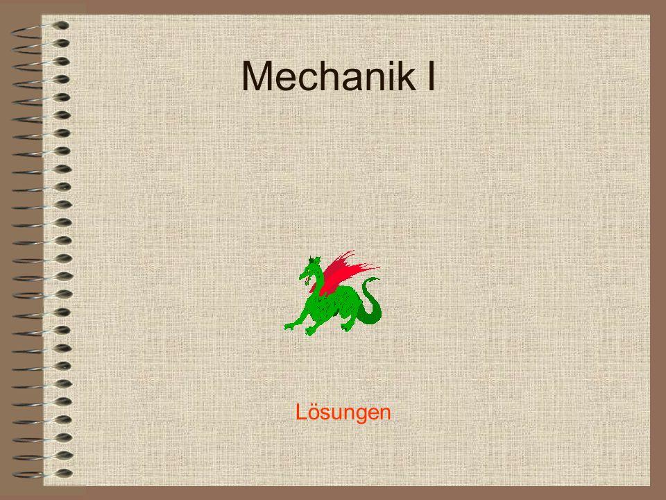 3.8 Die mechanische Leistung