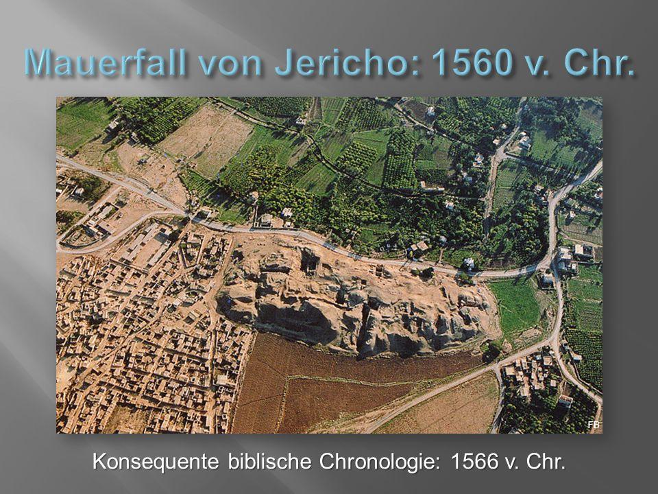 Konsequente biblische Chronologie: 1566 v. Chr. FB