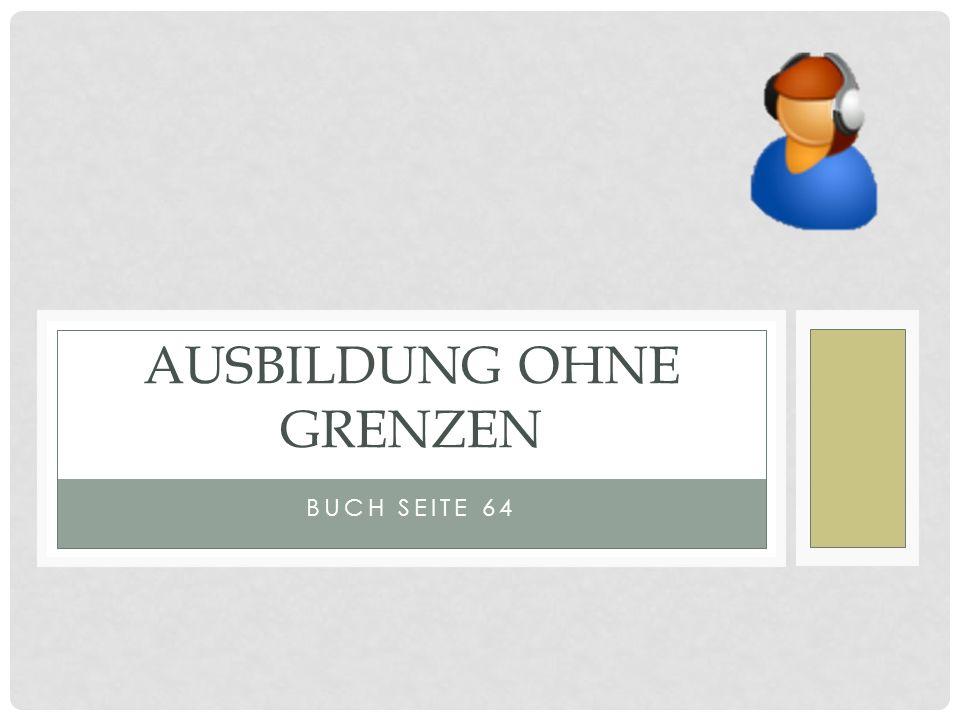 BUCH SEITE 64 AUSBILDUNG OHNE GRENZEN