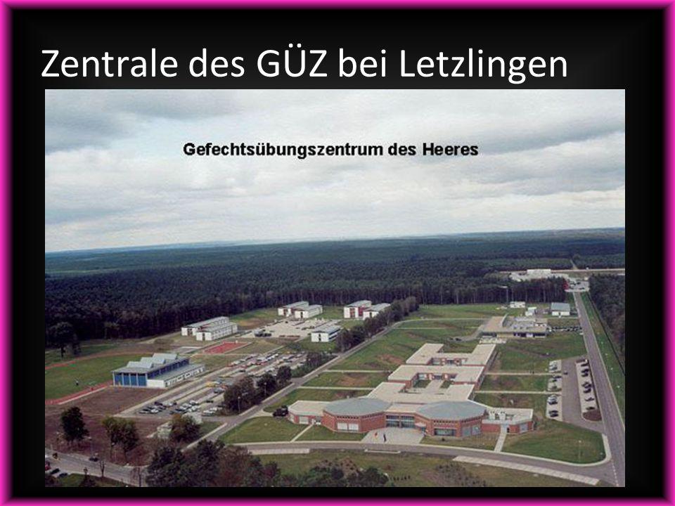 Zentrale des GÜZ bei Letzlingen