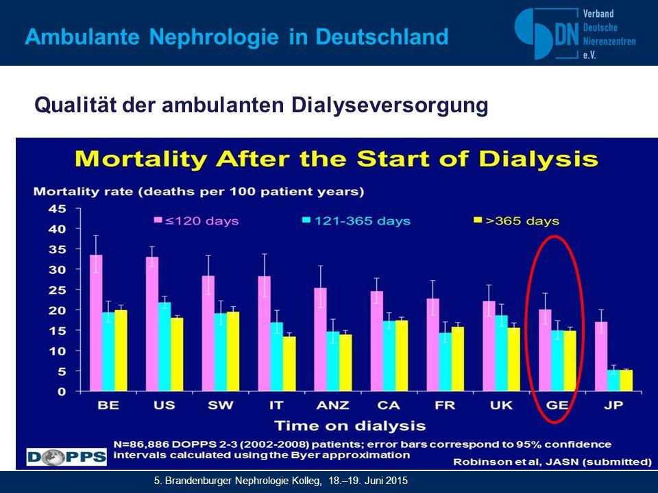 Qualität der ambulanten Dialyseversorgung Seite 5 Dopps/PDF/Jpg Ambulante Nephrologie in Deutschland 5.