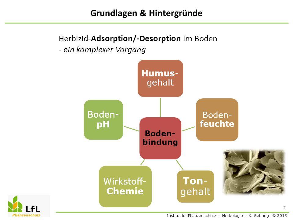 Institut für Pflanzenschutz - Herbologie - K.
