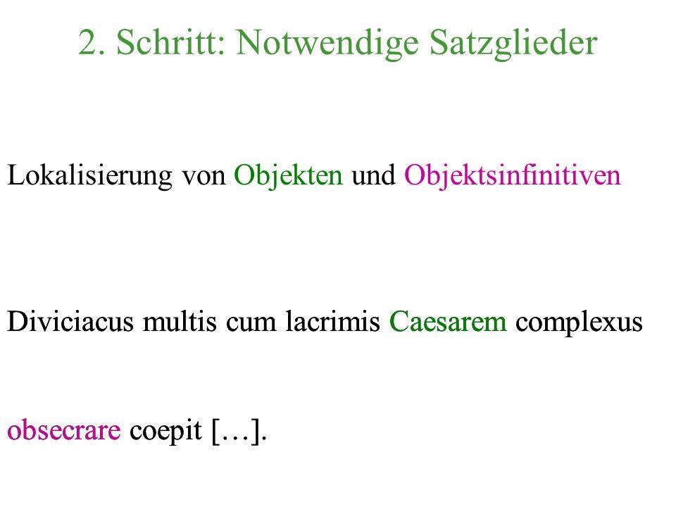 Diviciacus umarmend [...] fing an. Übersetzung