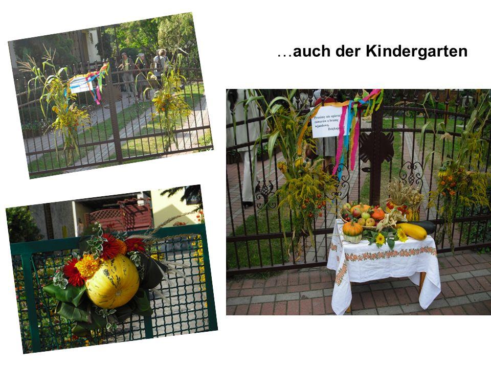 …auch der Kindergarten