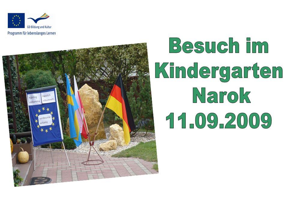 """Der Kindergarten hat für sein Freigelände einen Preis für """"Ökologische Gärten aus Warschau erhalten"""