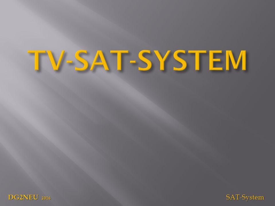 DG2NEU 2016 SAT-System