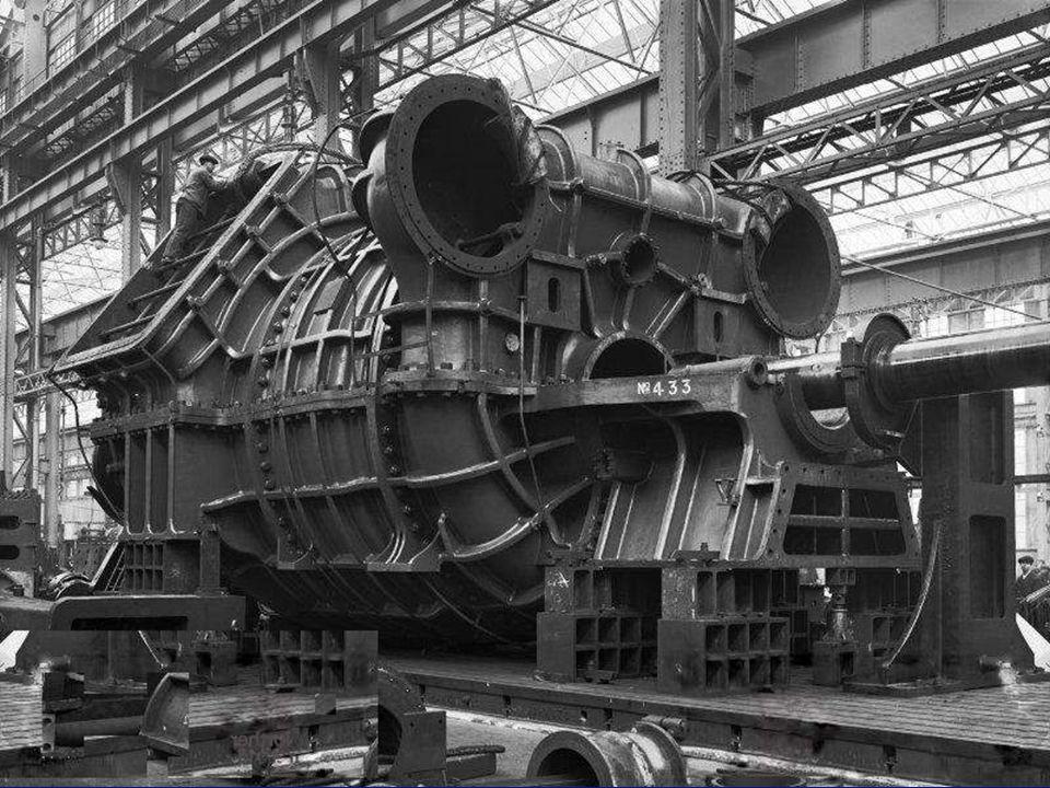 Turbine Einbau