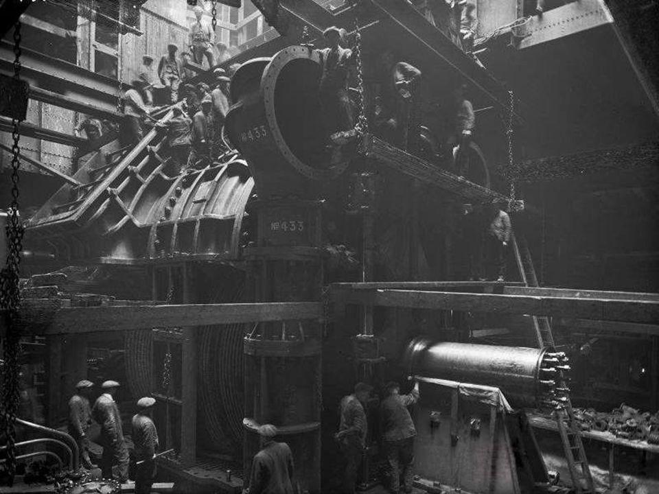 Maschinenraum der Titanic
