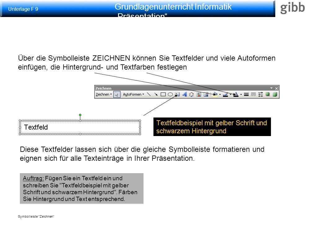 """Grundlagenunterricht Informatik """"Präsentation Schematische Darstellungen Über Einfügen > Schematische Darstellung lassen sich Diagrammtypen auswählen und einfügen z.B."""