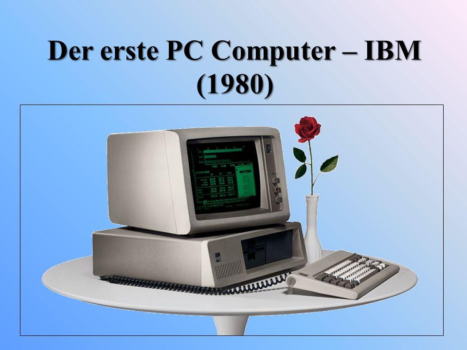 Der erste PC Computer – IBM (1980)