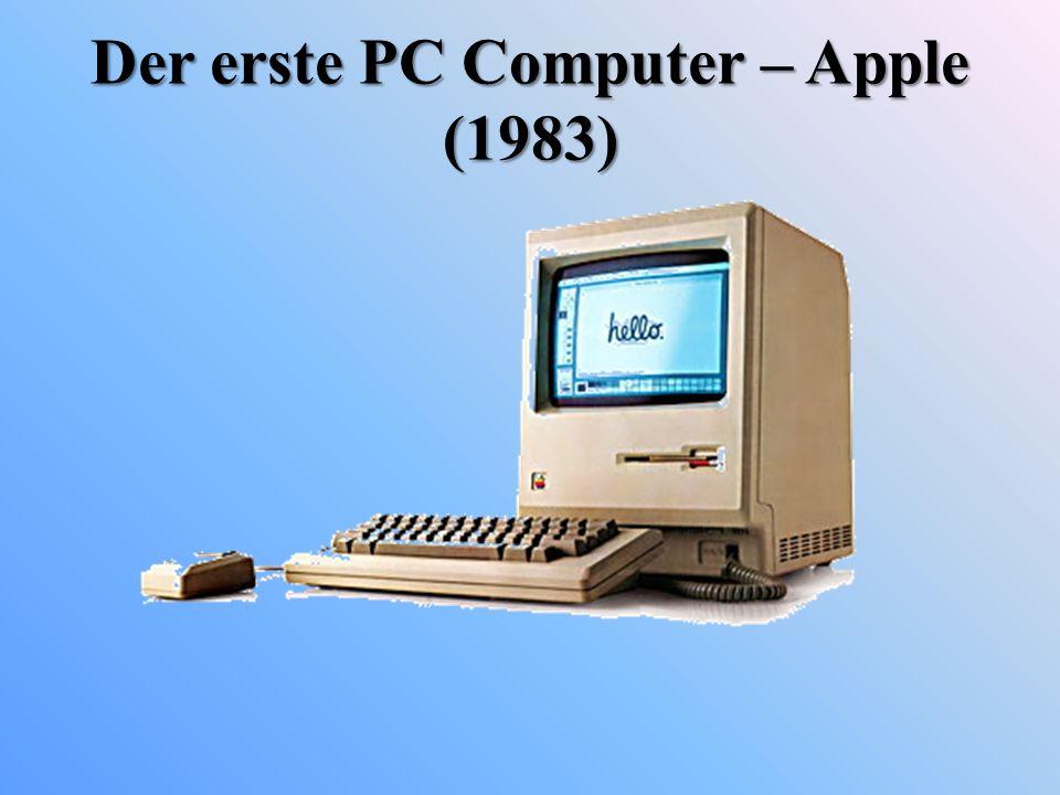 Der erste PC Computer – Apple (1983)