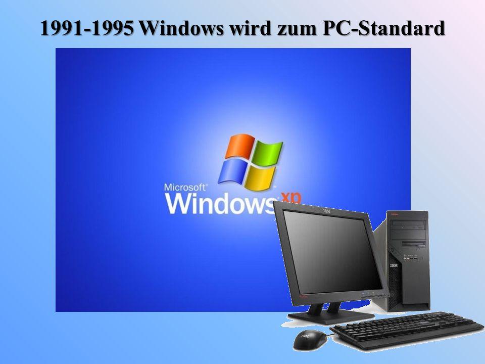 1991-1995 Windows wird zum PC-Standard