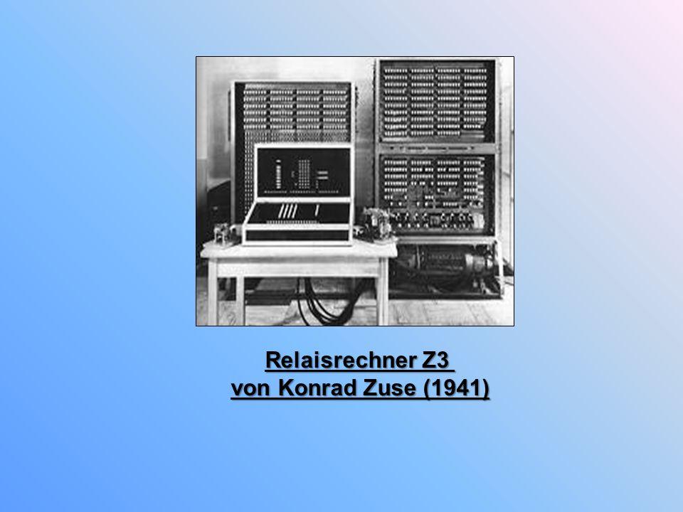 Relaisrechner Z3 von Konrad Zuse (1941)