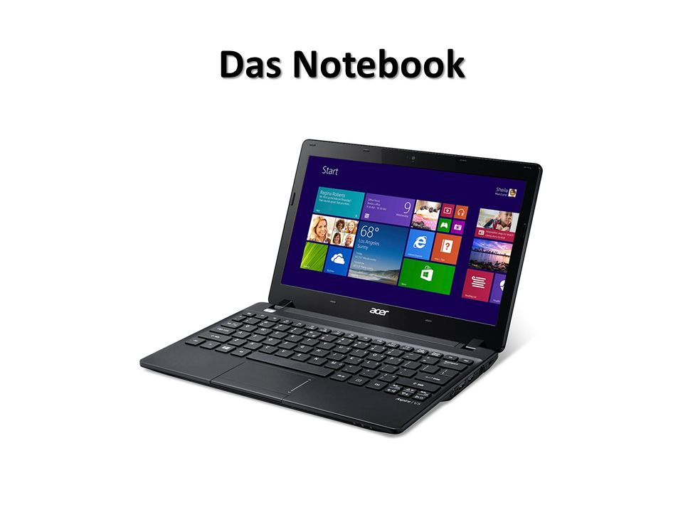 Das Notebook