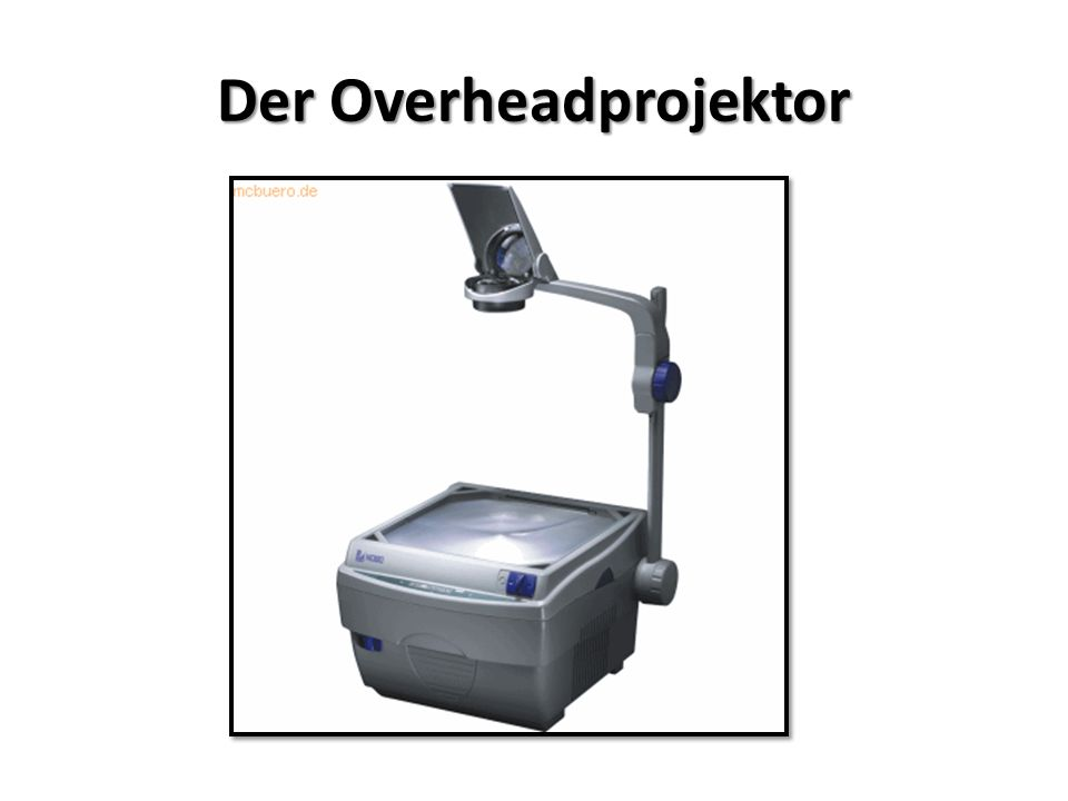 Der Overheadprojektor
