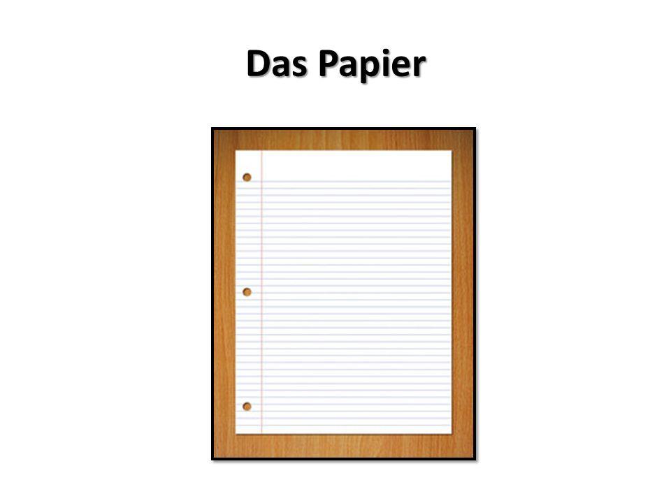 Das Papier