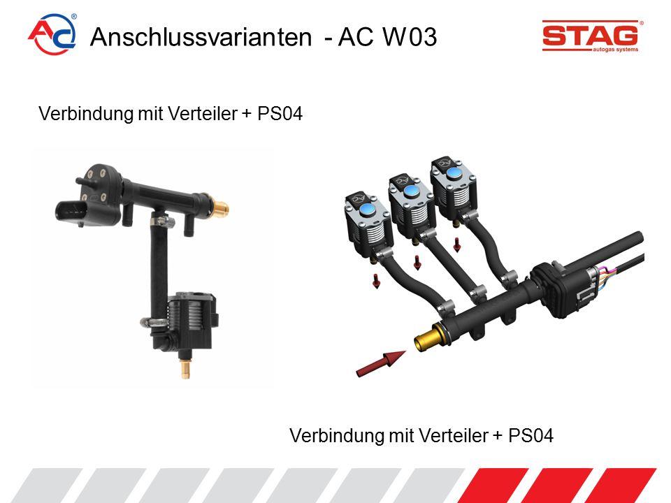 Verbindung mit Verteiler + PS04