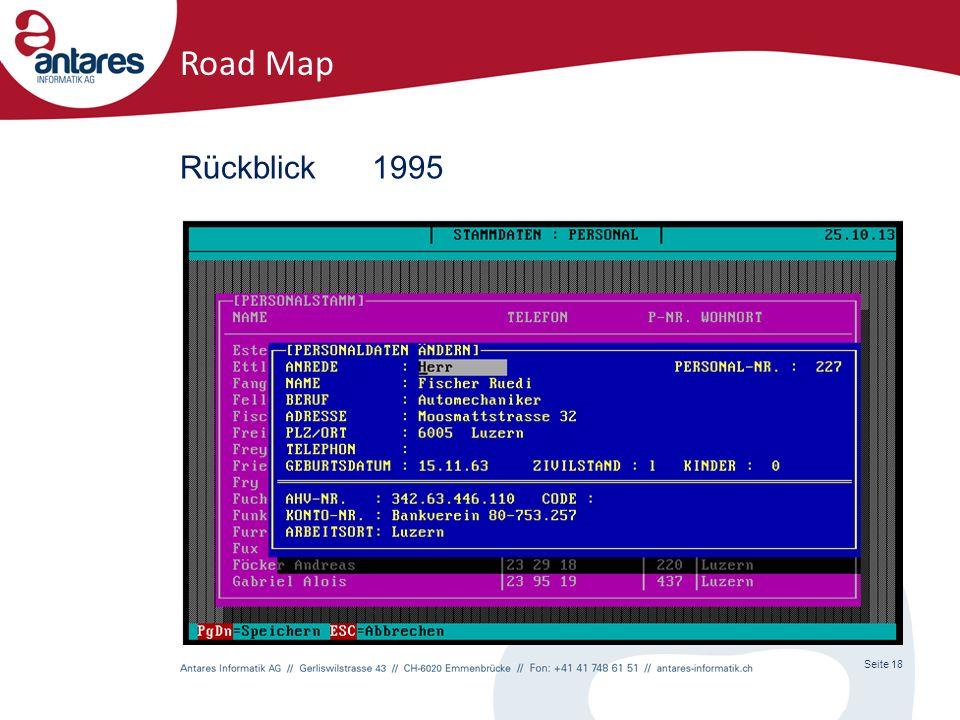 Seite 18 Road Map Rückblick1995