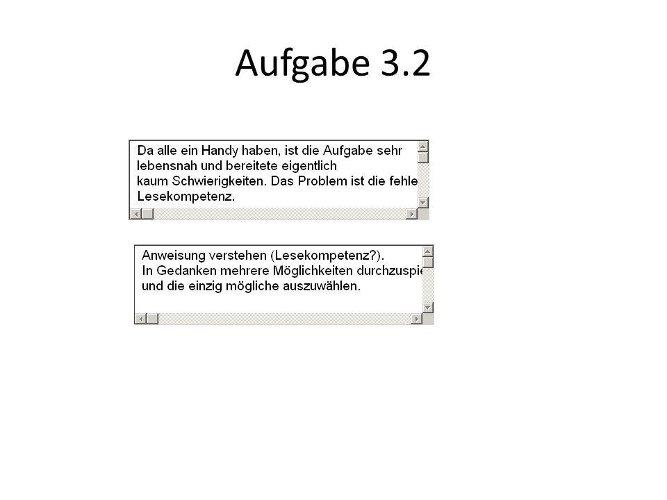 Aufgabe 3.2