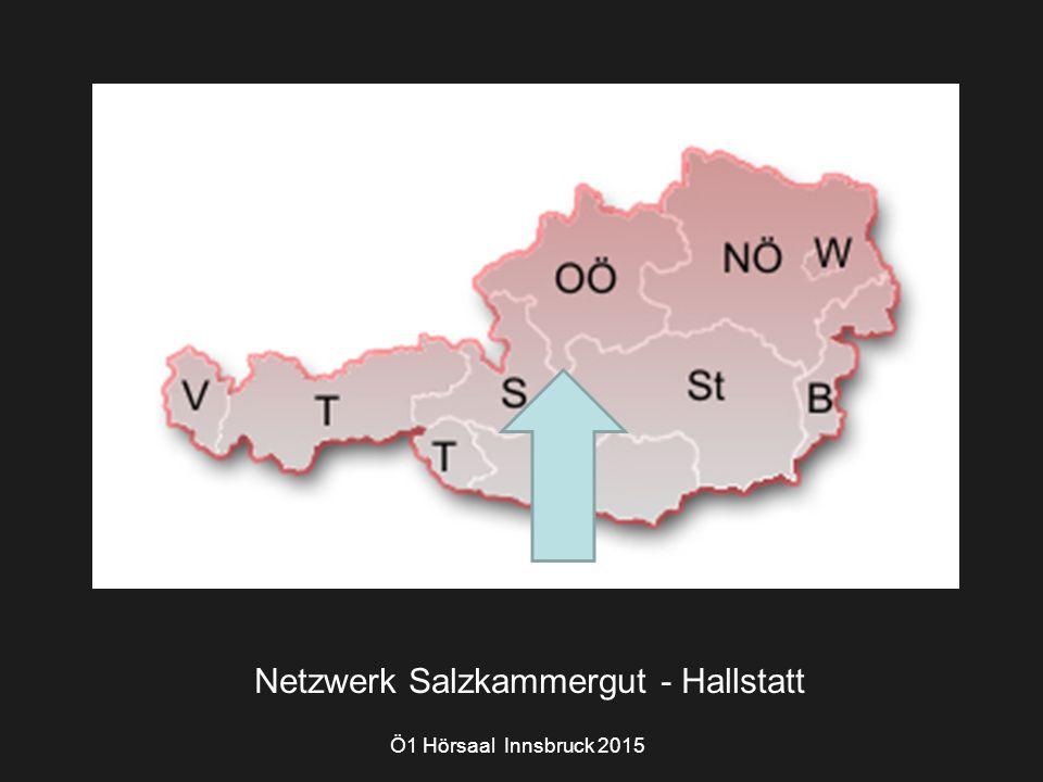 Ö1 Hörsaal Innsbruck 2015 Netzwerk Salzkammergut - Hallstatt