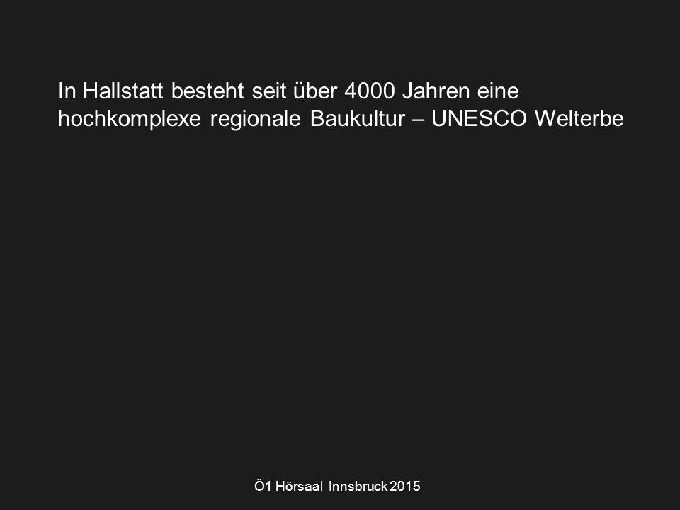 Ö1 Hörsaal Innsbruck 2015 Hallstatt - autochthon