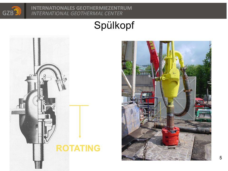 Bohrlochmotoren 16 Wandelt die hydraulische Energie der Spülung in hohe Drehmomente zum Bohrkopf um Wandelt die kinetische Energie der Spülung (hoher Durchfluß) in mechanische Energie  hohe Drehzahl (ca.