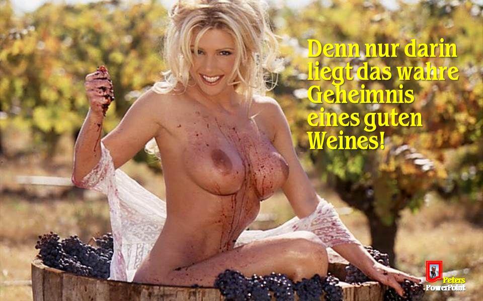 PetersPowerPoint Denn nur darin liegt das wahre Geheimnis eines guten Weines!