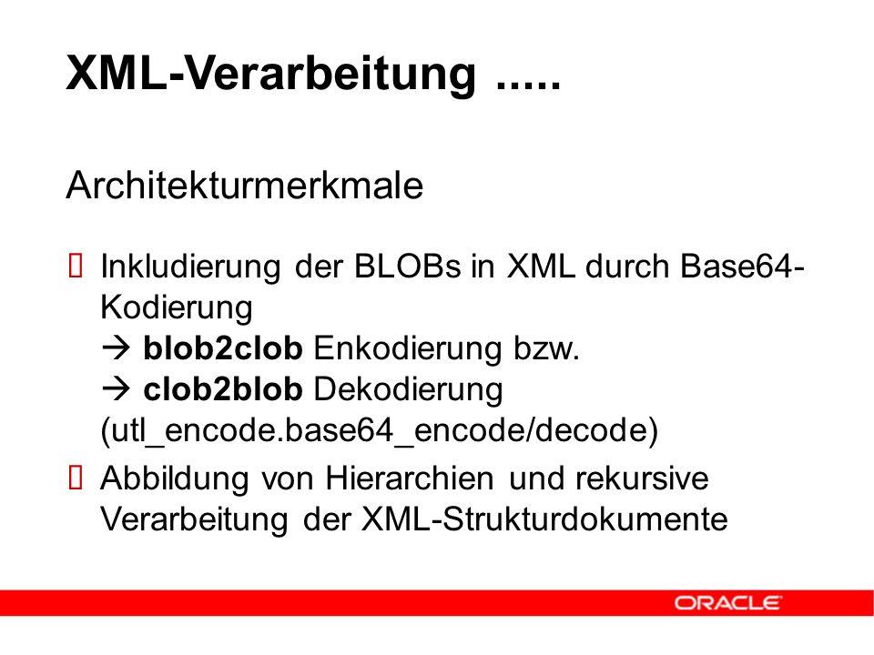 XML-Verarbeitung.....