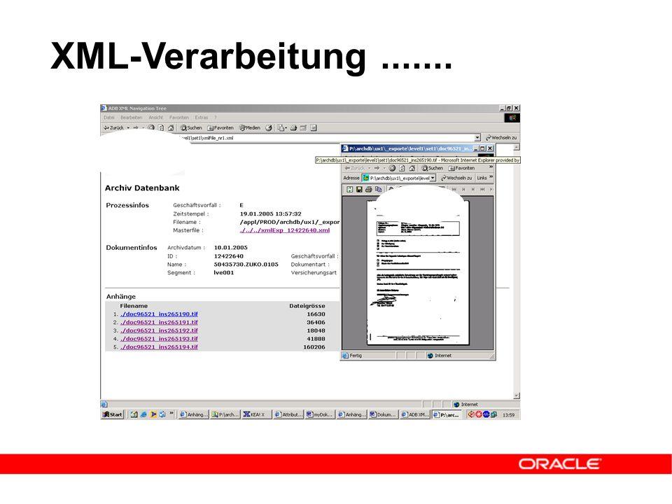 XML-Verarbeitung.......