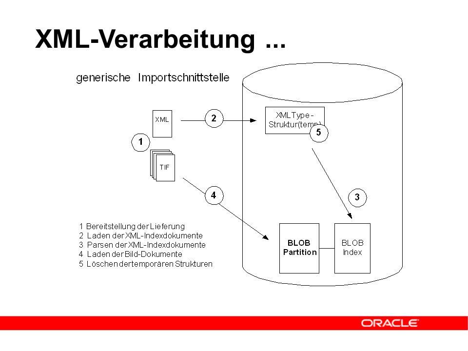 XML-Verarbeitung...