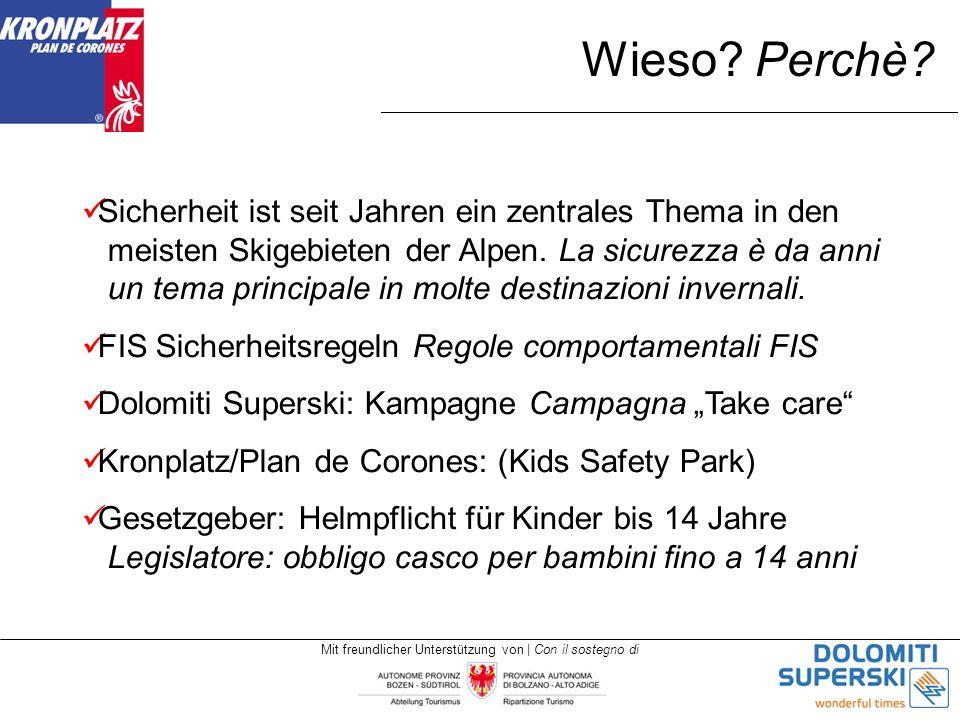 Mit freundlicher Unterstützung von | Con il sostegno di Wieso.