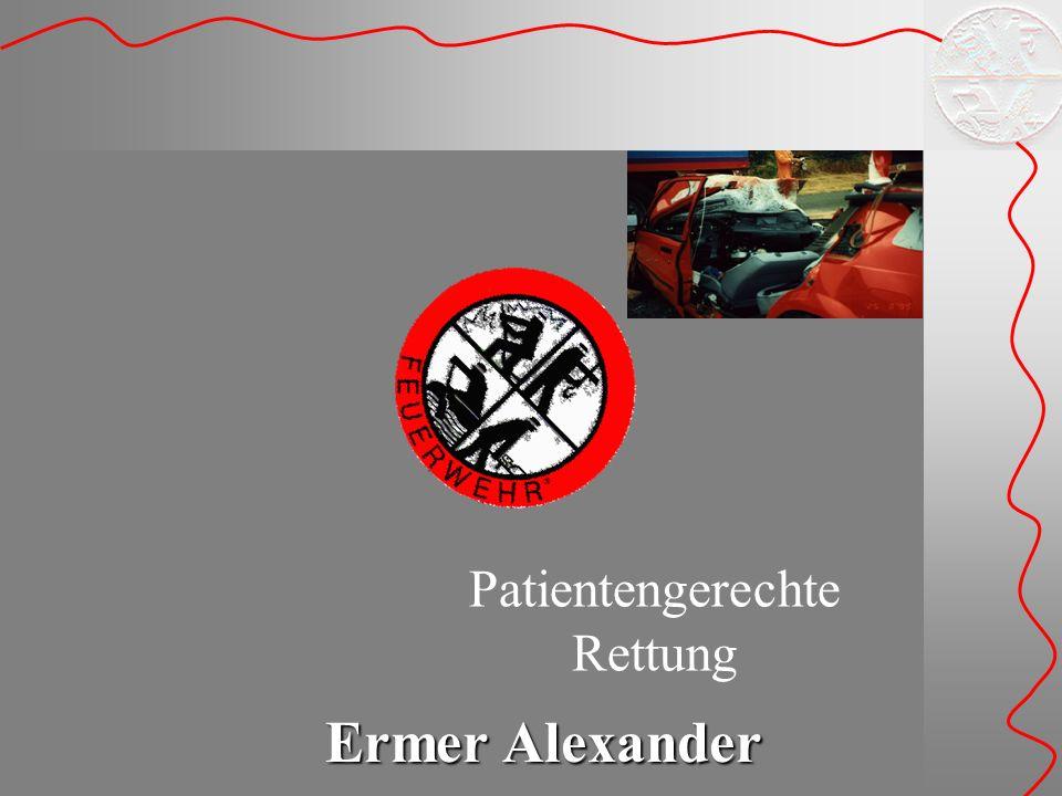 Ermer Alexander Patientengerechte Rettung