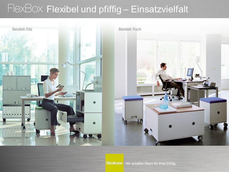 Flexibel und pfiffig – Einsatzvielfalt Beistell-SitzBeistell-Tisch