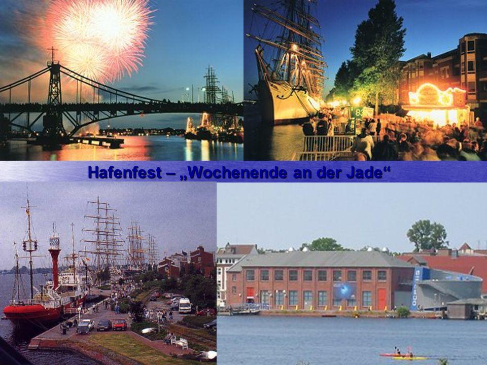 """Hafenfest – """"Wochenende an der Jade"""""""