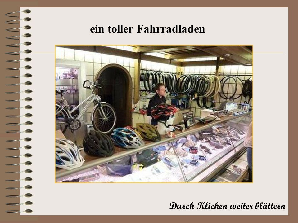 ein toller Fahrradladen