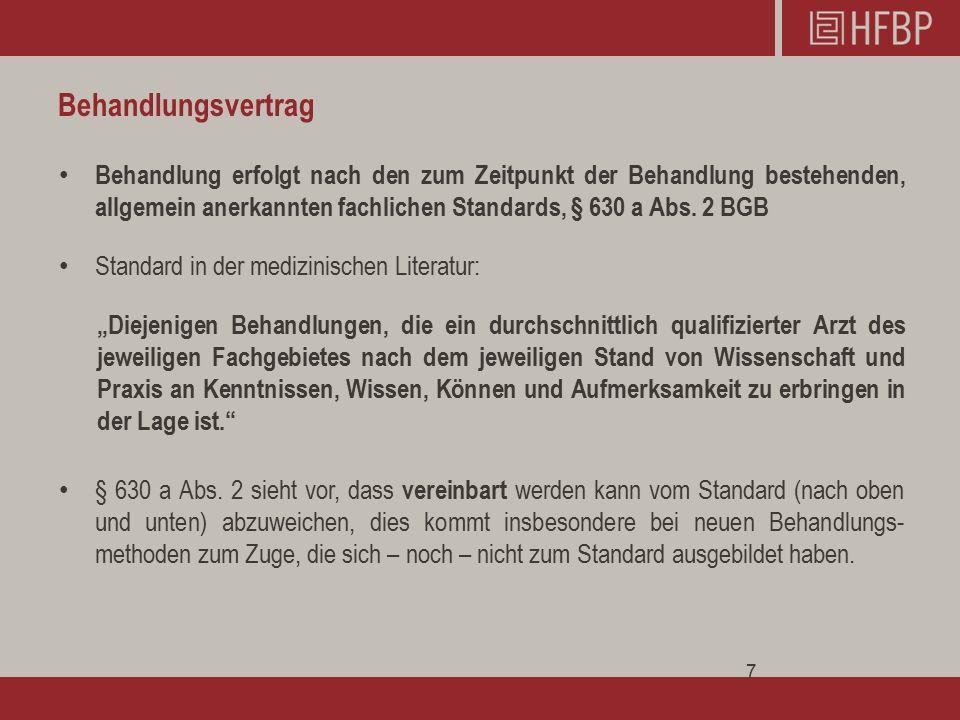 Vielen Dank für Ihre Aufmerksamkeit Rechtsanwalt Oliver Bechtler Fachanwalt für Medizinrecht info@hfbp.de kostenfreie Servicenummer: 0800 / 94 88 350