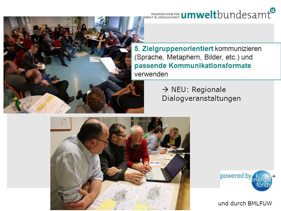 10  NEU: Regionale Dialogveranstaltungen 5.