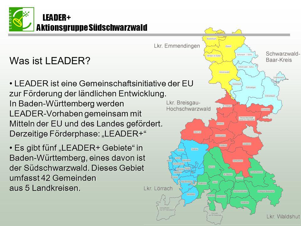 Was ist LEADER.
