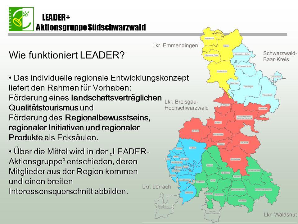 Wie funktioniert LEADER.