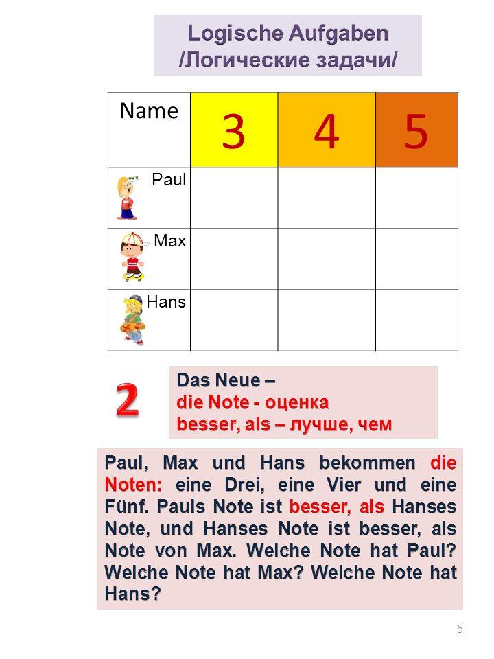 16 Aufgabe 2: Nenne und zeichne die wichtigsten geometrischen Figuren.