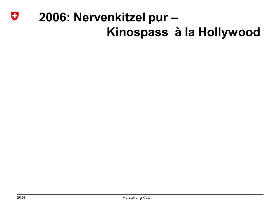 2014 Vorstellung KSD 4 2006: Nervenkitzel pur – Kinospass à la Hollywood