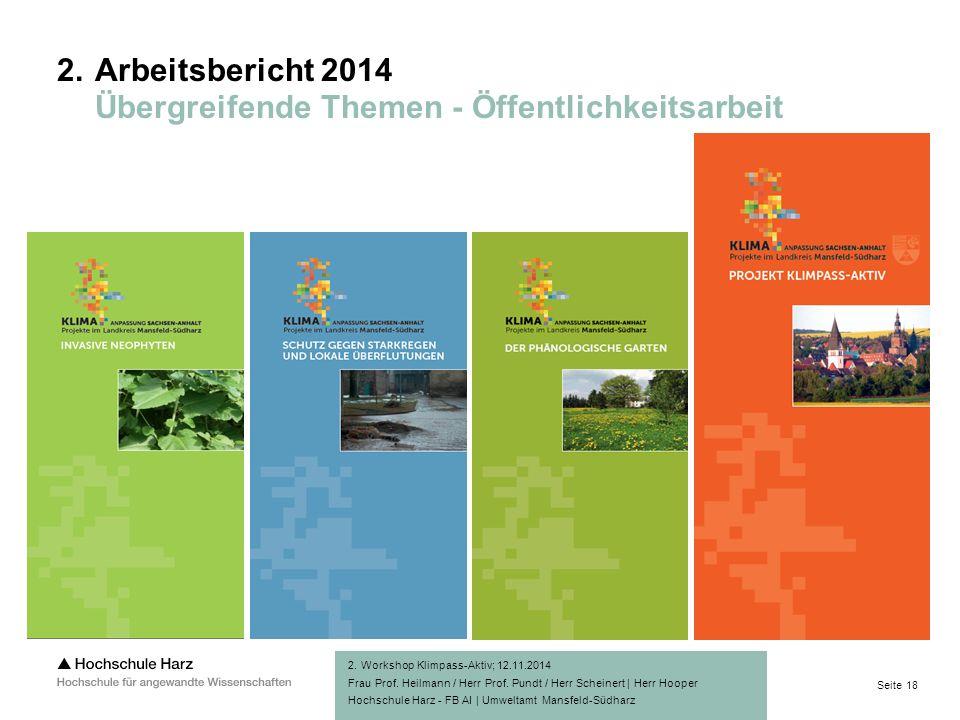 Seite 18 Hochschule Harz - FB AI | Umweltamt Mansfeld-Südharz 2.