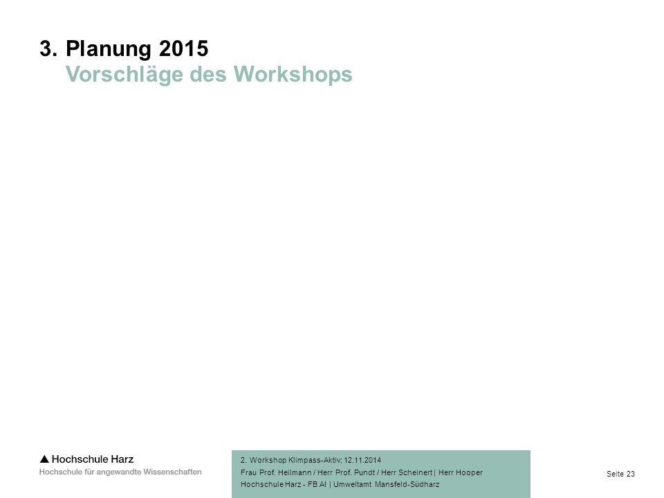 Seite 23 Hochschule Harz - FB AI | Umweltamt Mansfeld-Südharz 2.