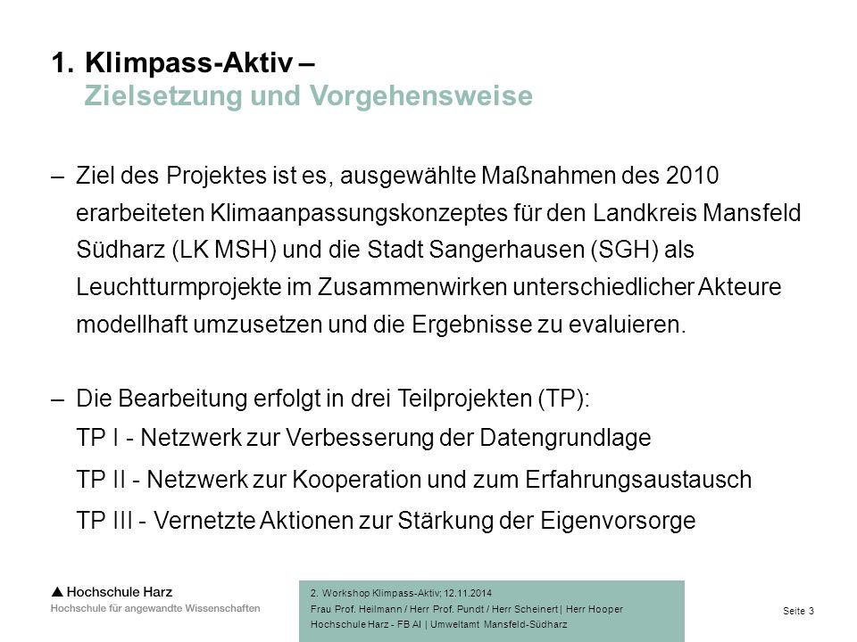 Seite 3 Hochschule Harz - FB AI | Umweltamt Mansfeld-Südharz 1.