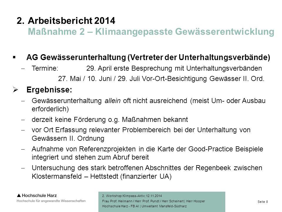 Seite 8 Hochschule Harz - FB AI | Umweltamt Mansfeld-Südharz 2.
