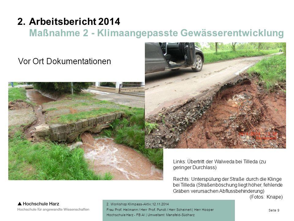 Seite 9 Hochschule Harz - FB AI | Umweltamt Mansfeld-Südharz 2.