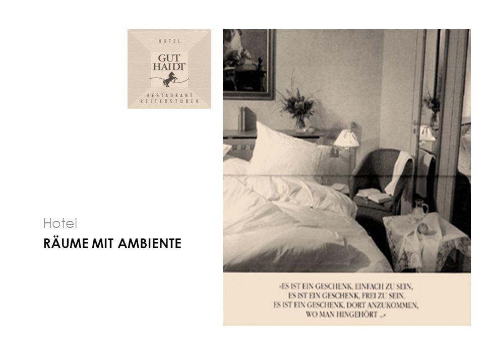 RÄUME MIT AMBIENTE Hotel