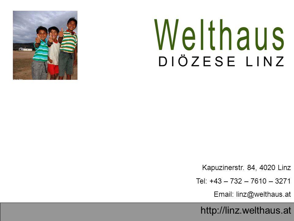 http://linz.welthaus.at Wir setzen uns ein für eine gerechte Welt für alle.