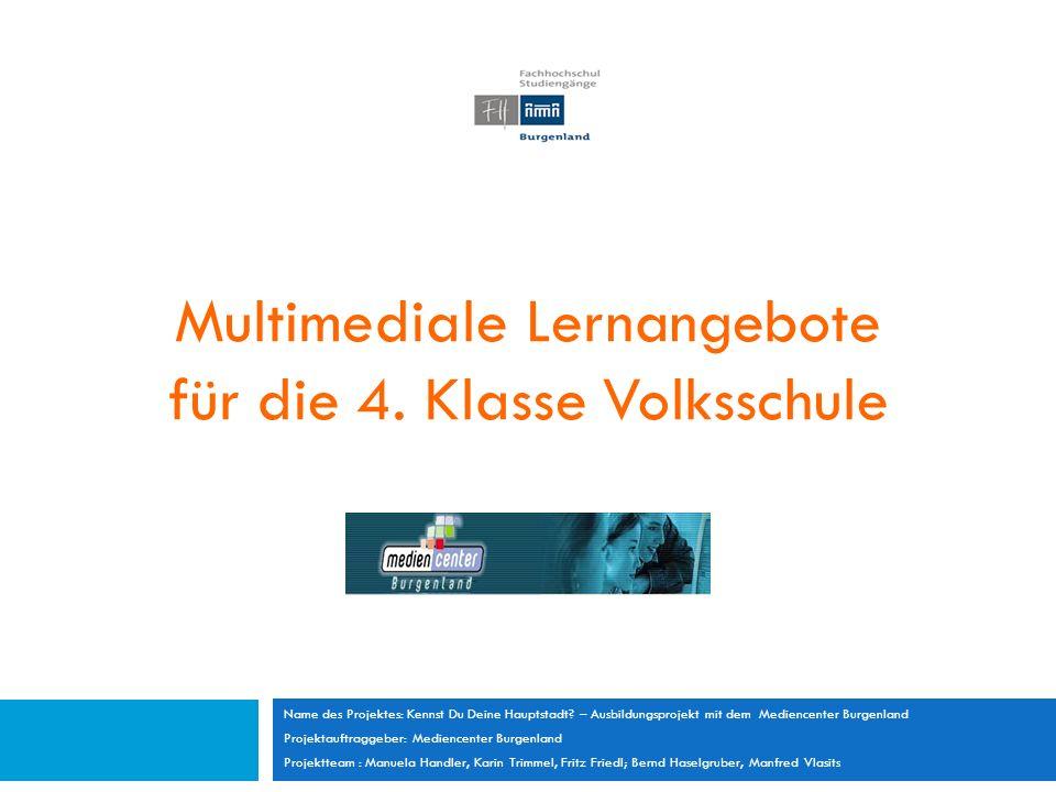 Multimediale Lernangebote für die 4.
